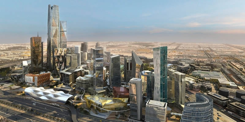 Financial District, Riyadh, Saudi Arabia - 1