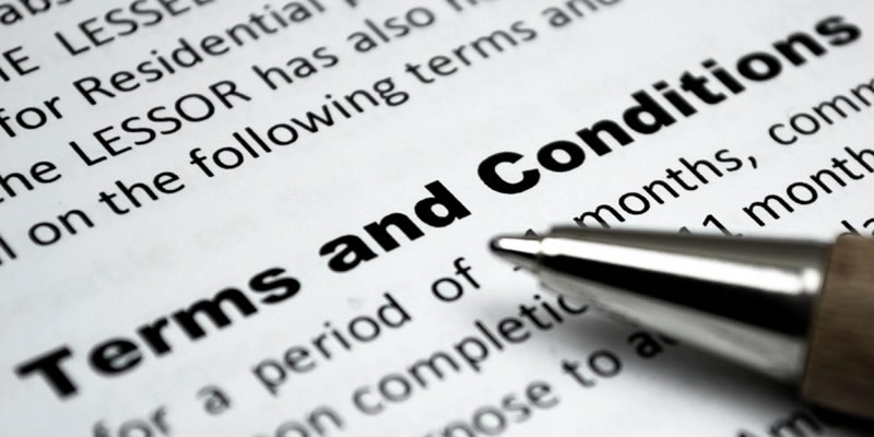 Website Terms & Conditions - 0