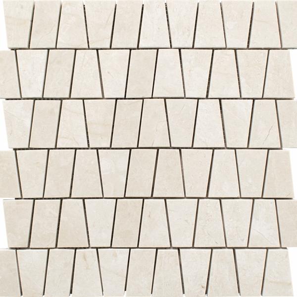 Crema Marfil Select Honed Kensington Marble Mosaic