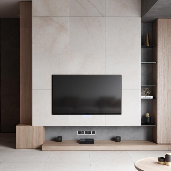 Crema Marfil Select Honed Marble
