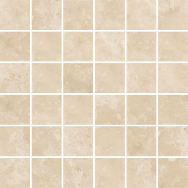 Lydia Classico Filled - Honed Travertine Mosaic