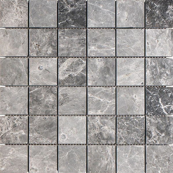 Silver Moon Honed Marble Mosaic